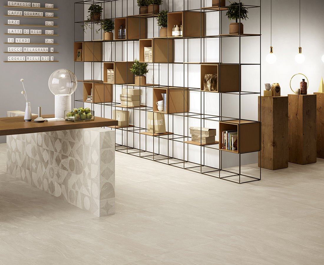 WAYSTONE, Beige tiles by Ceramica Sant'Agostino