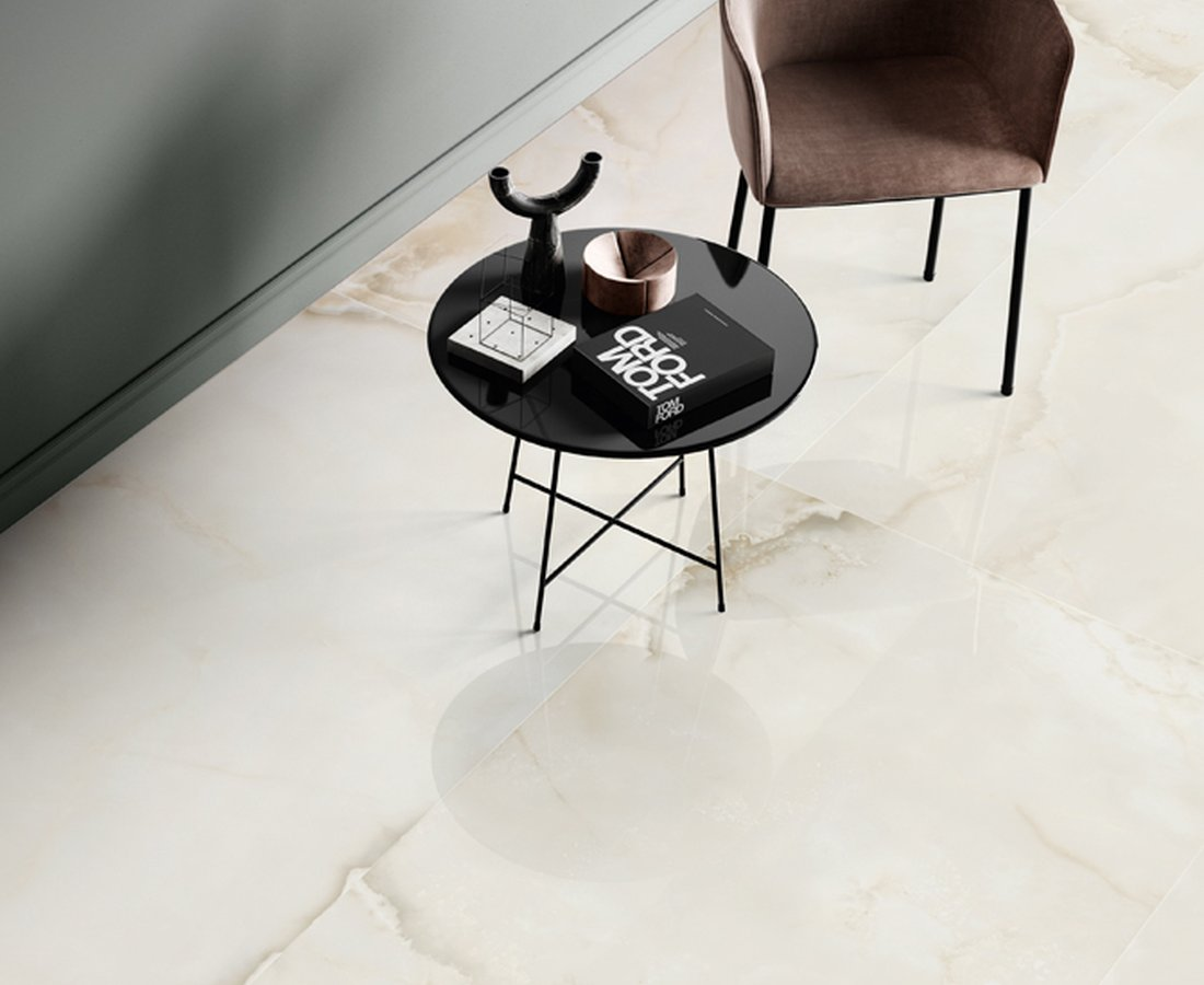 PURE MARBLE, Beige tiles by Ceramica Sant'Agostino