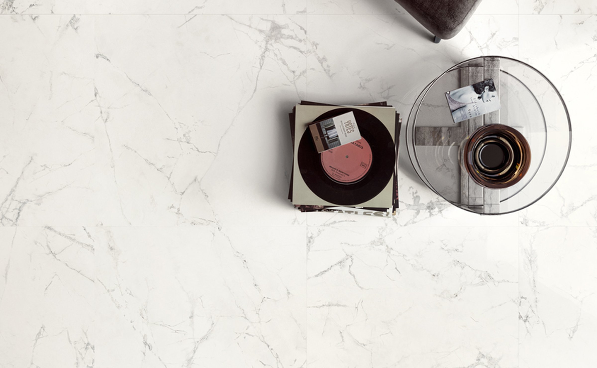 Pure Marble: Marble effect stoneware