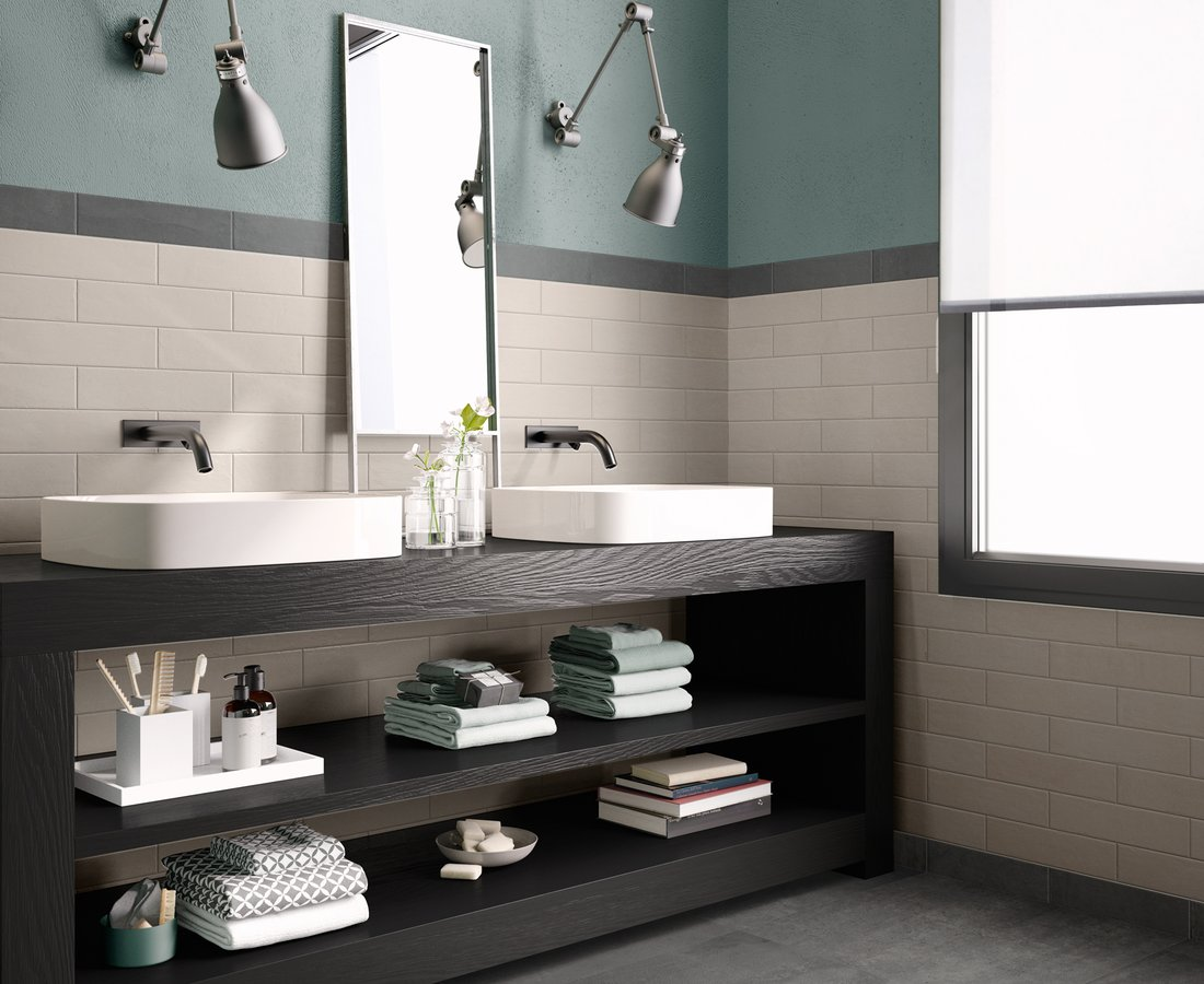 Bathroom tiles RITUAL by Ceramica Sant'Agostino