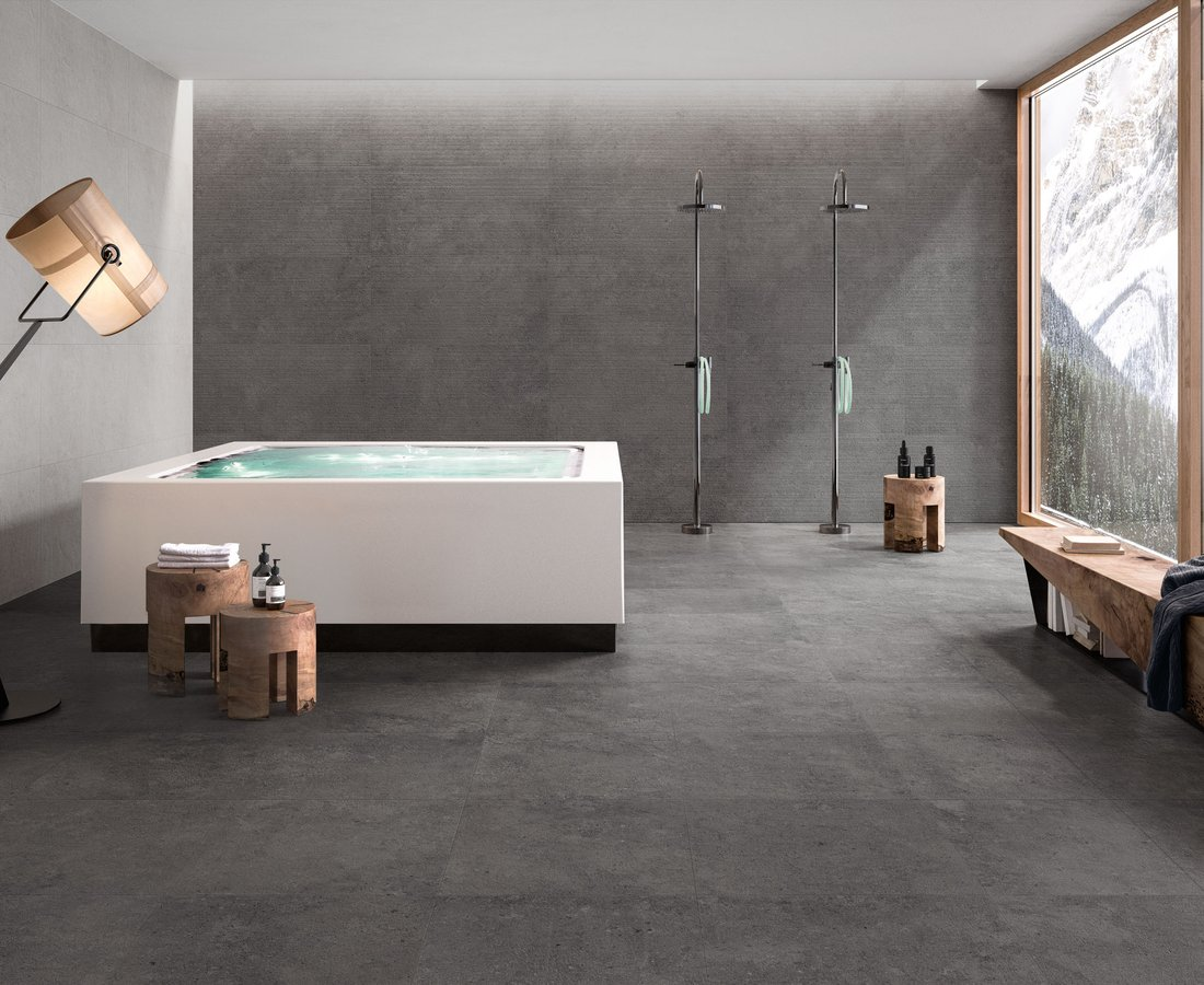 Bathroom tiles HIGHSTONE by Ceramica Sant'Agostino