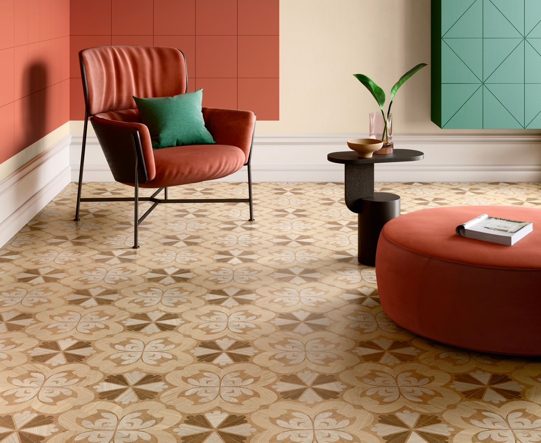 Living room tiles INTARSI CLASSIC by Ceramica Sant'Agostino