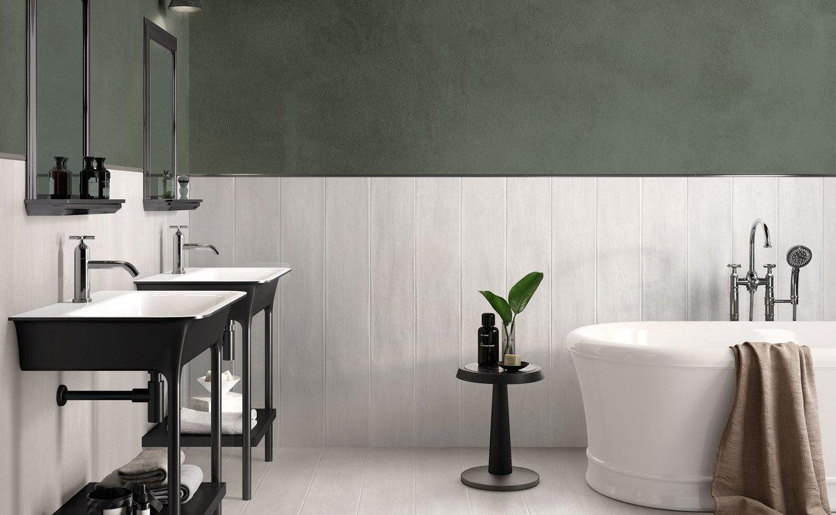 Lakewood pavimenti in gres porcellanato effetto legno for Piastrelle per bagno