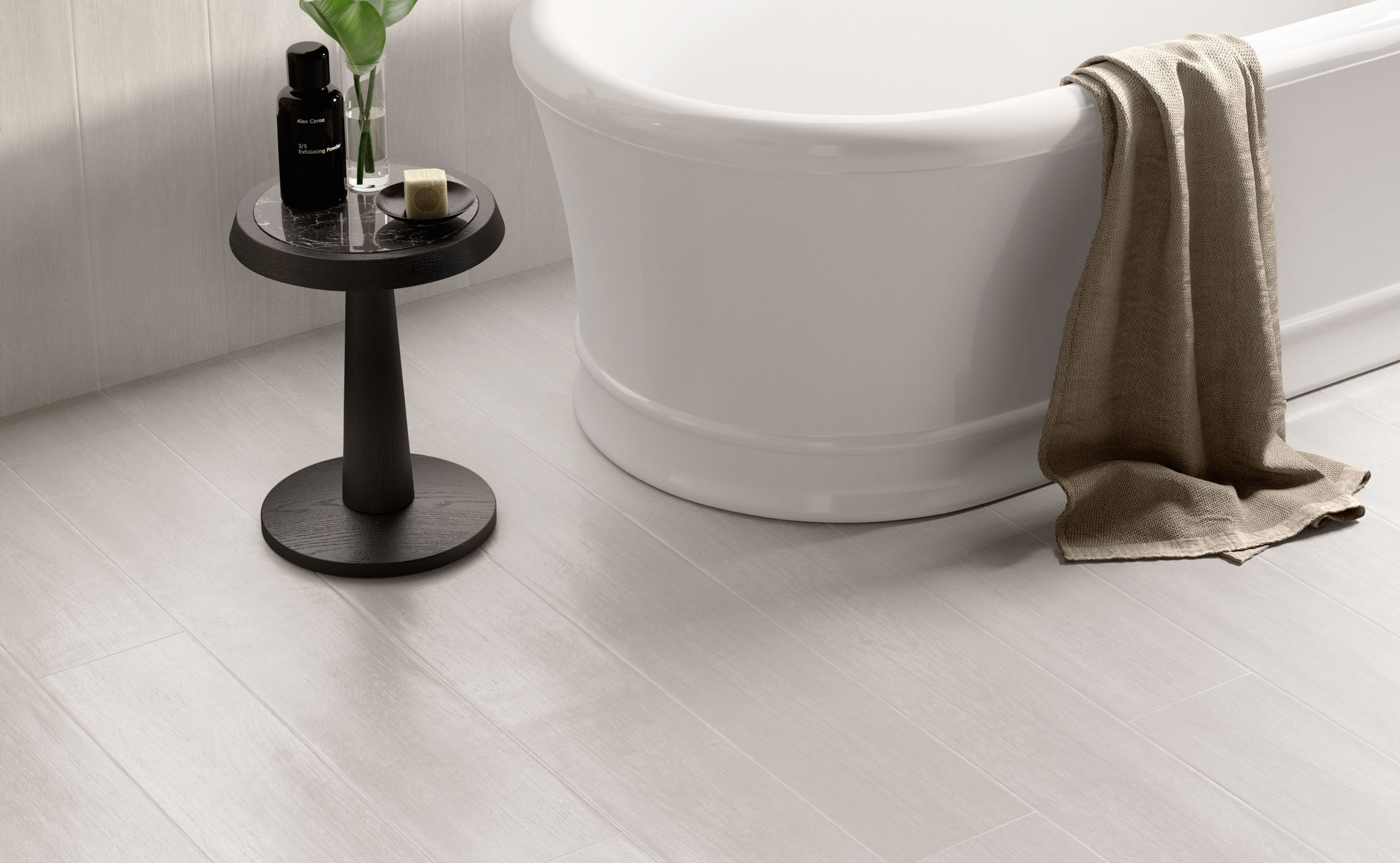 Lakewood: wood-effect stoneware floors