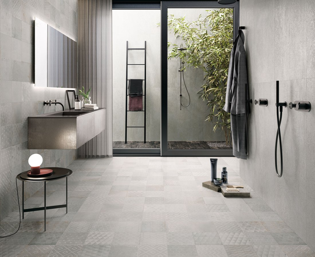 Bathroom tiles OXIDART by Ceramica Sant'Agostino