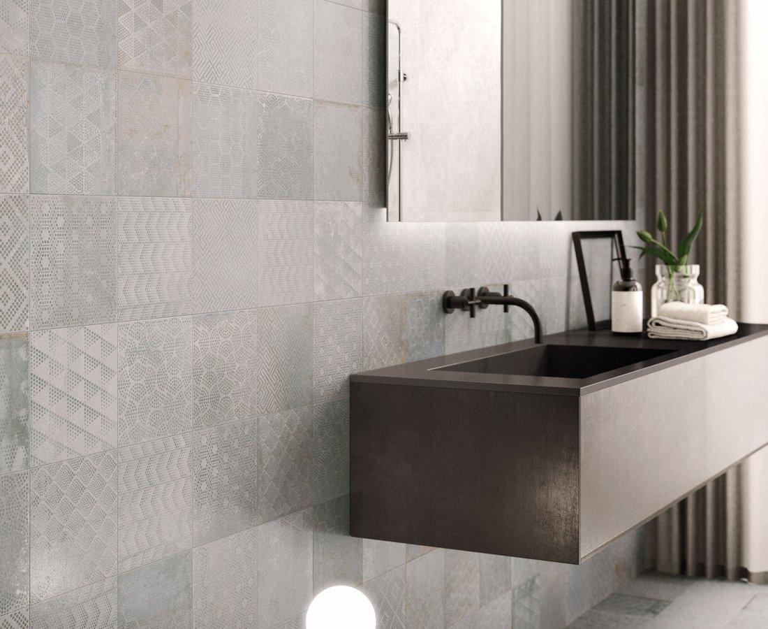 Piastrelle bagno verde acqua rivestimenti da parete per la cucina ikea rivestimenti bagno - Alternativa piastrelle bagno ...
