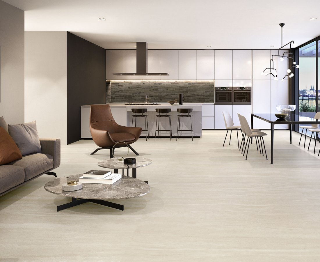 Living room tiles VIA APPIA by Ceramica Sant'Agostino