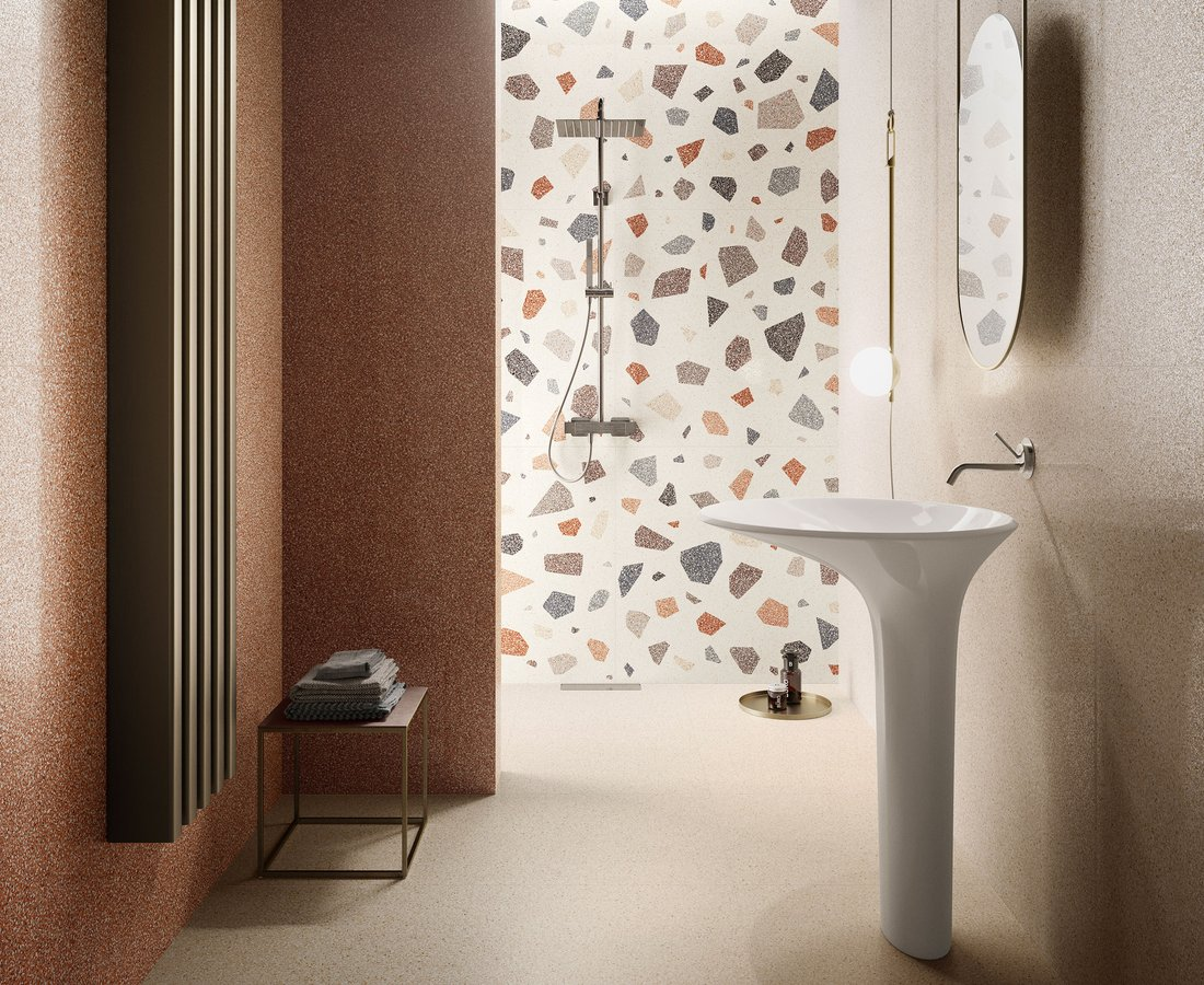 Bathroom tiles NEWDECO' by Ceramica Sant'Agostino