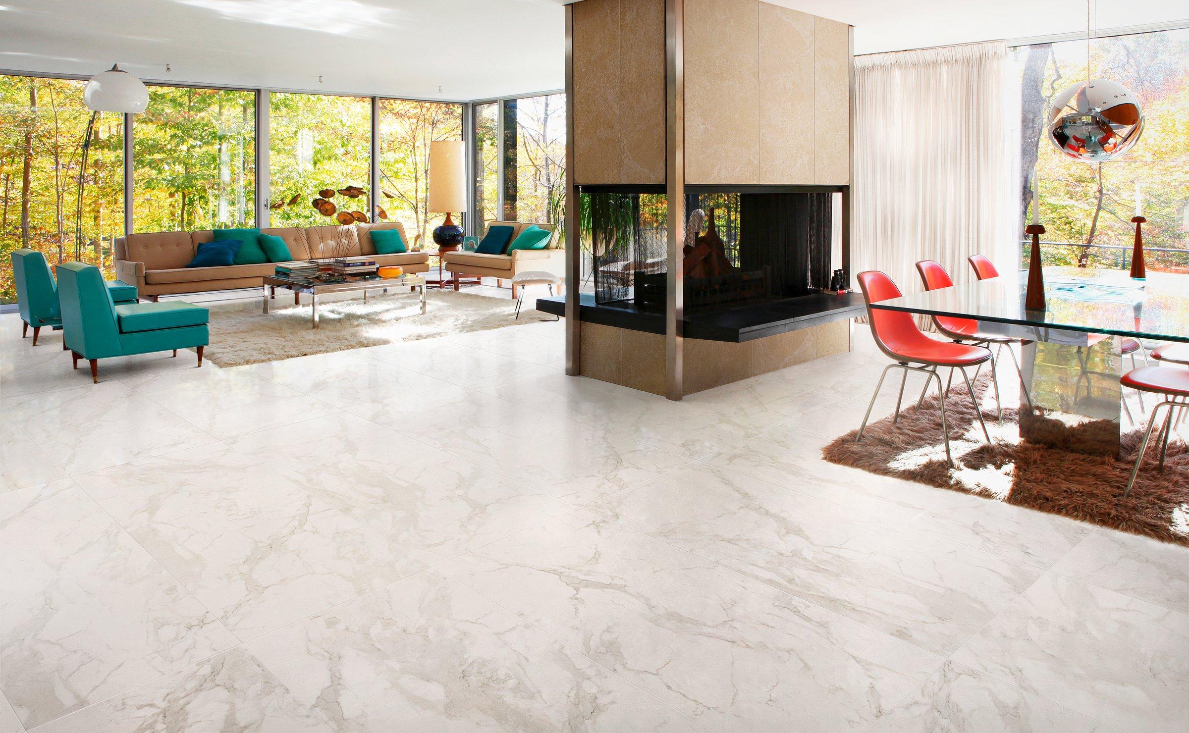 Marmocrea: piastrelle effetto marmo ceramica santagostino